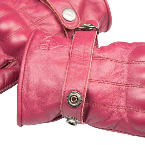 By City Ladies Elegant Leather Motorcycle Glove