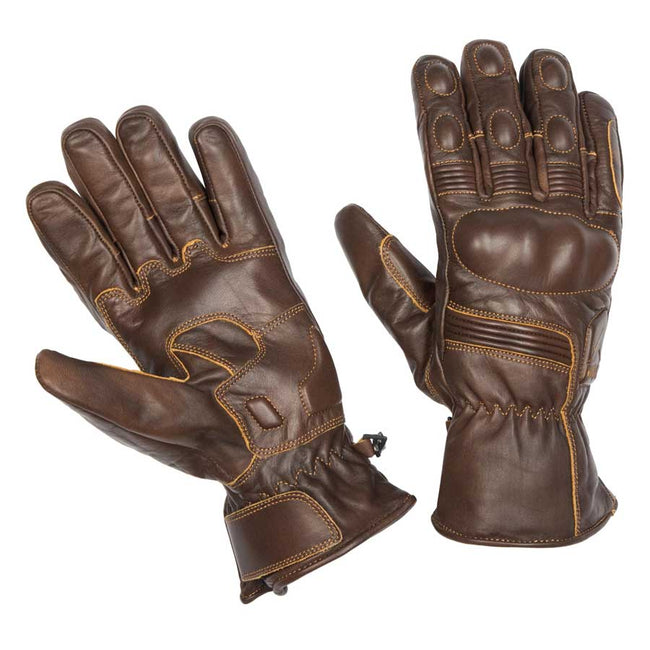 By City Mens Fuel Leather Motorcycle Glove