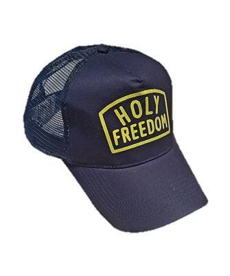 Holy Freedom Worker Cap in Blue