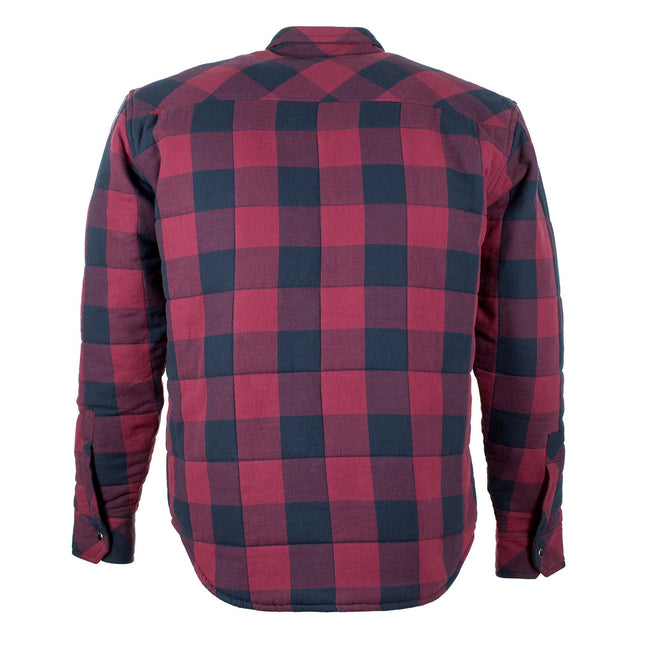 Resurgence Gear Riding Shirt Black Red check
