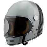 By City - By City Roadster White Full Face Helmet - Helmets - Salt Flats Clothing