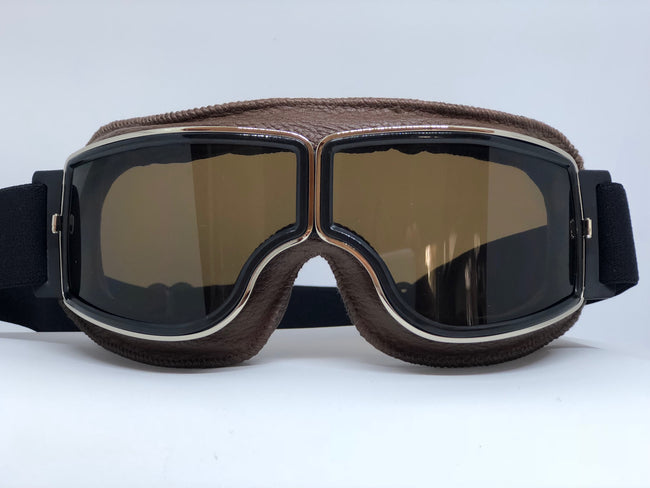 Blackbird Brown Goggles with Tinted Lenses for Motorcycle