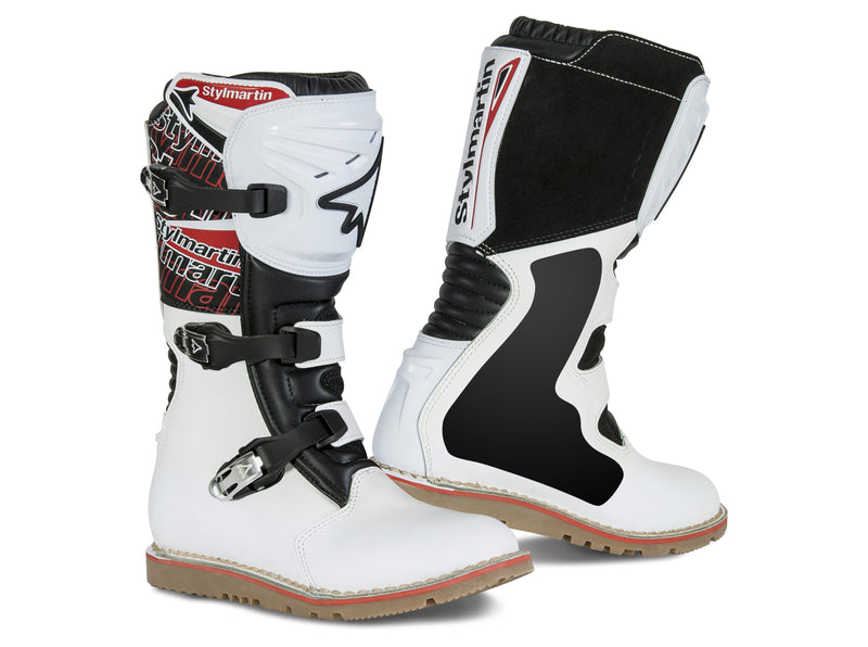 Stylmartin Impact Evo Off Road Motorcycle Boot in White