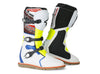 Stylmartin Impact Evo Off Road Motorcycle Boot in White, Blue and Yellow