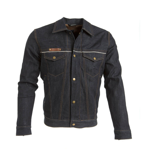 Blackbird Men's Nubuck Leather Jacket