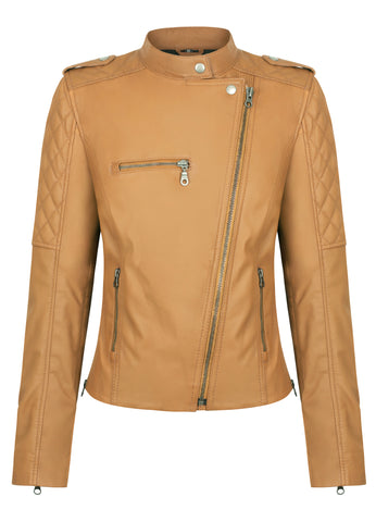 Black Arrow Ladies Gypsy Perfecto Leather Jacket