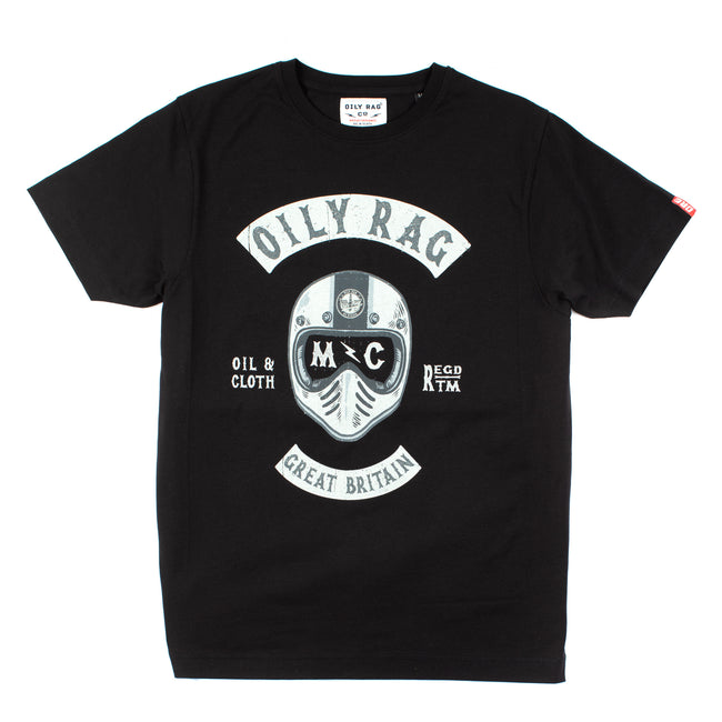 Oily Rag Clothing Black Label Motorcycle Chapter t'shirt design