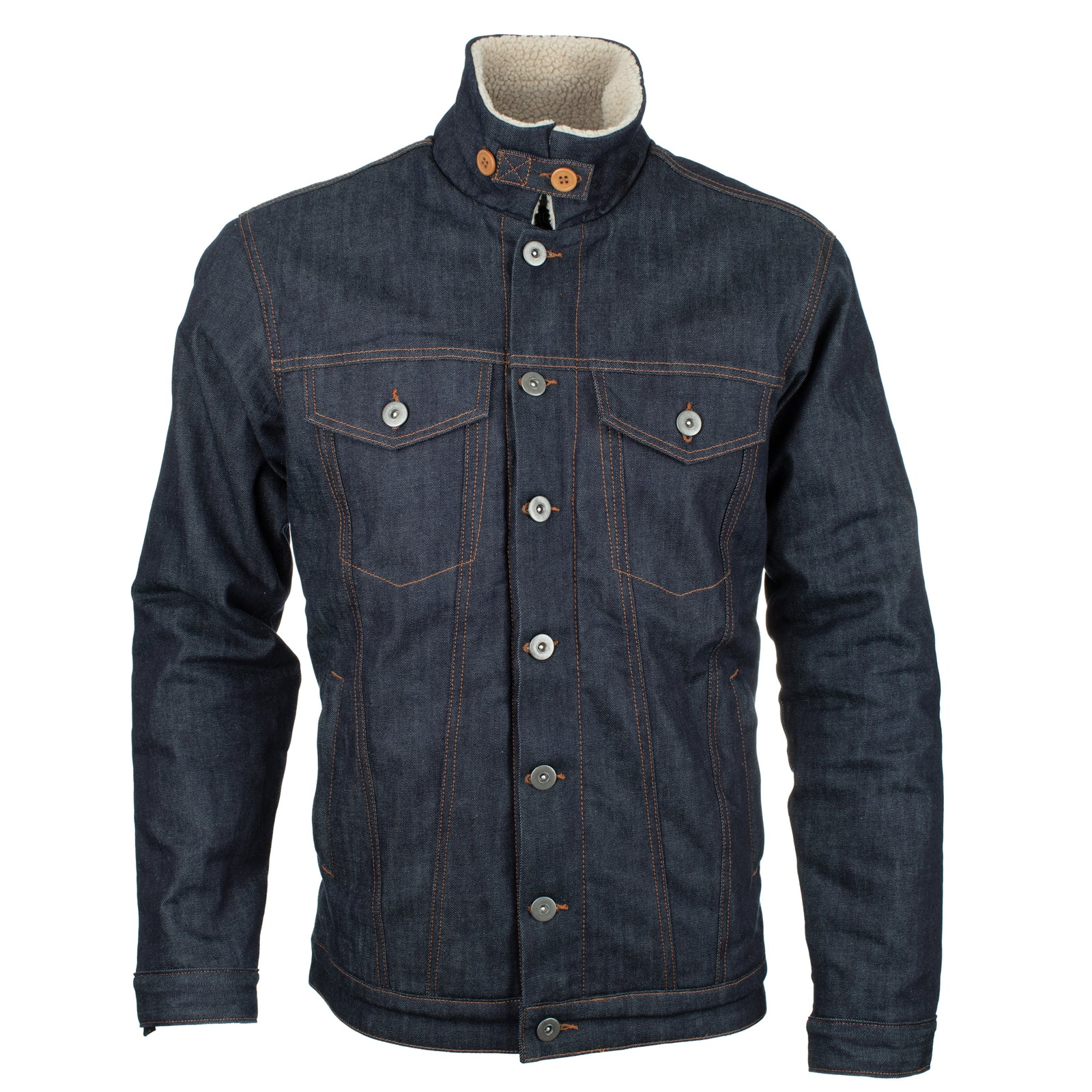 Resurgence Gear PEKEV Sherpa Selvedge Denim Jacket for men