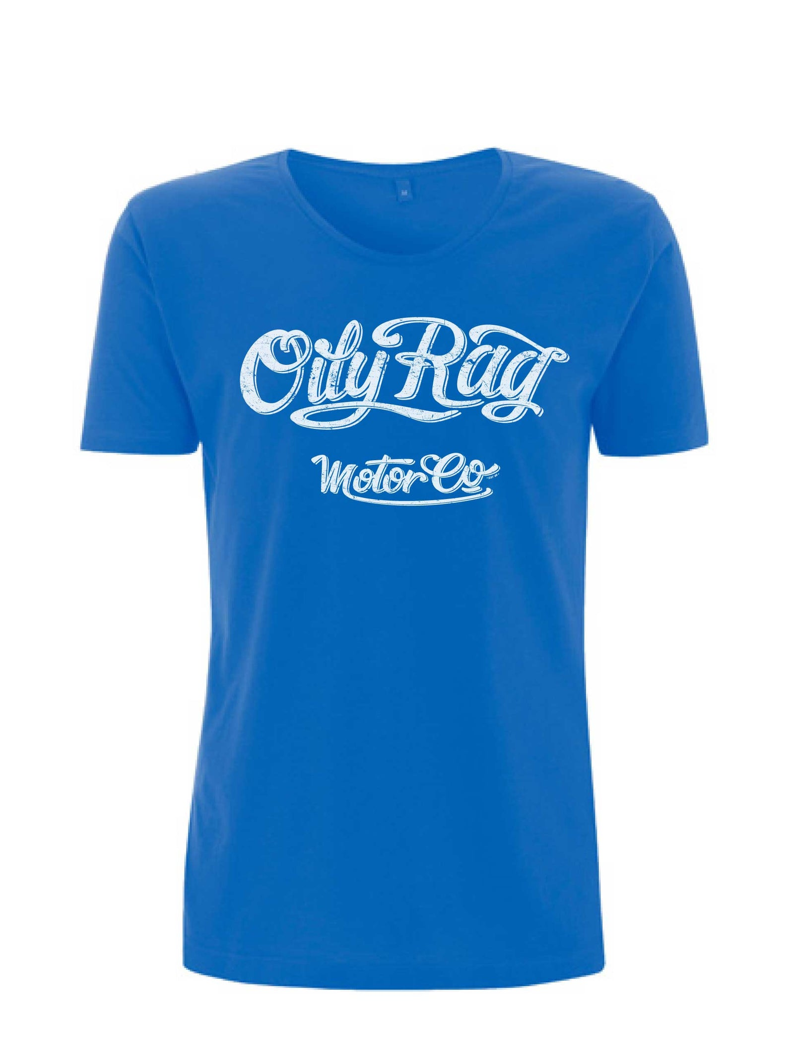 Oily Rag Clothing Motor Co Scooped neck t'shirt