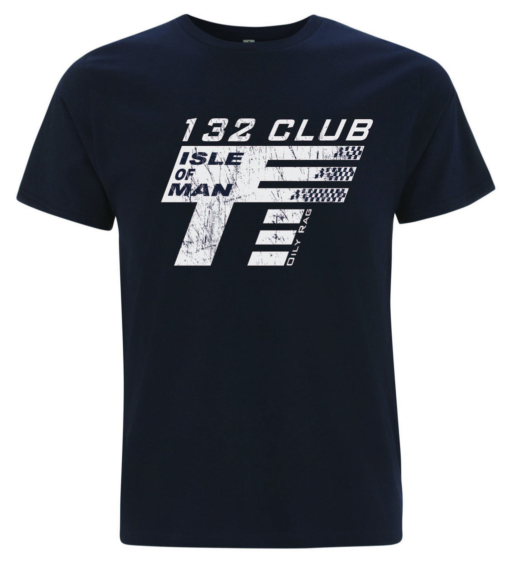 Oily Rag Clothing TT 132 Club retro t'shirt