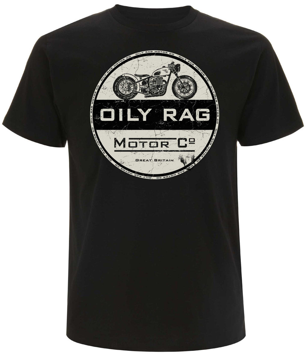 Oily Rag Clothing Motor Co retro style T'Shirt