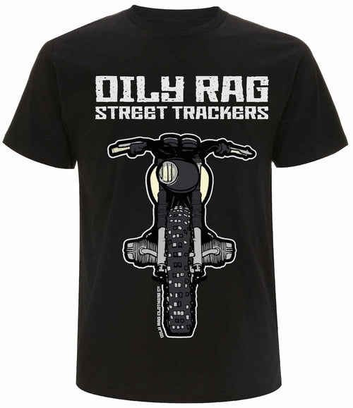 Oily Rag Clothing Street Tracker Motorcycle T'Shirt