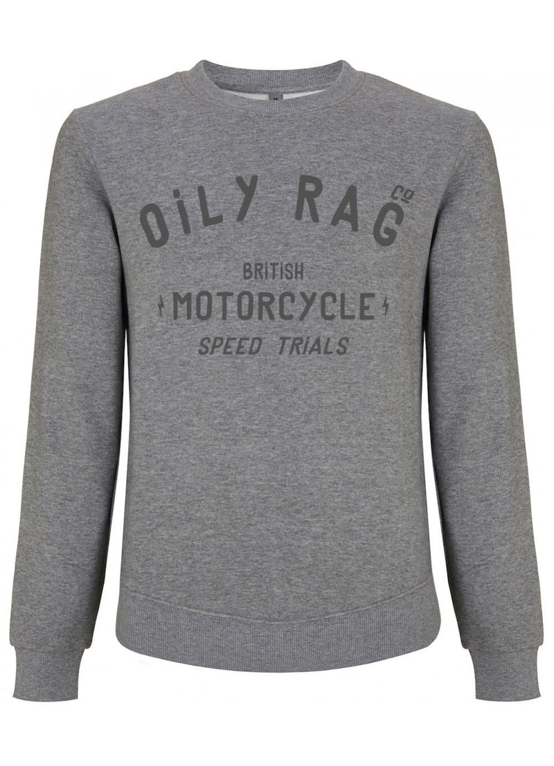 Oily Rag Clothing British Motorcycles Speed Trials sweat top