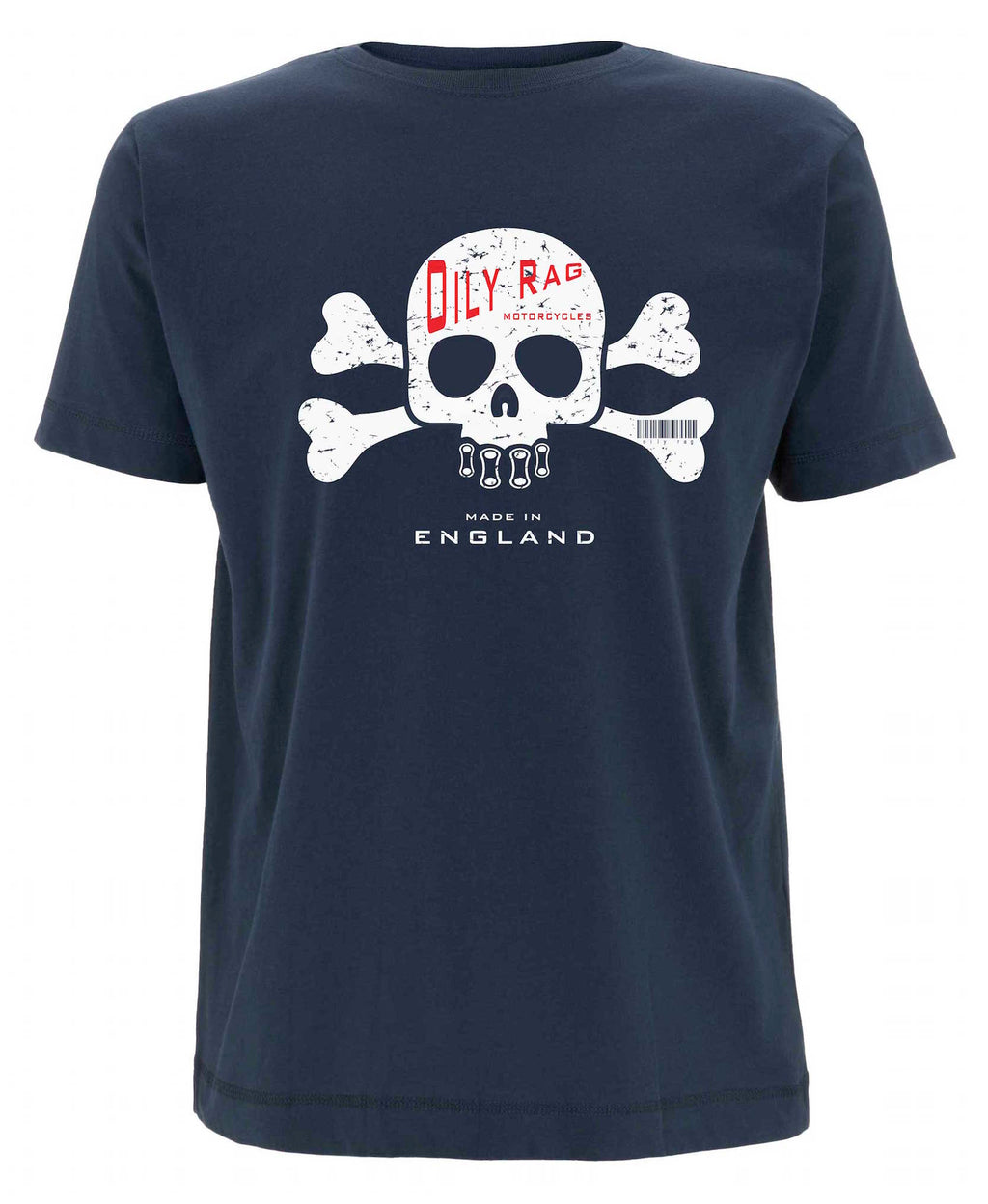 Oily Rag Clothing Cross Bones retro T'shirt