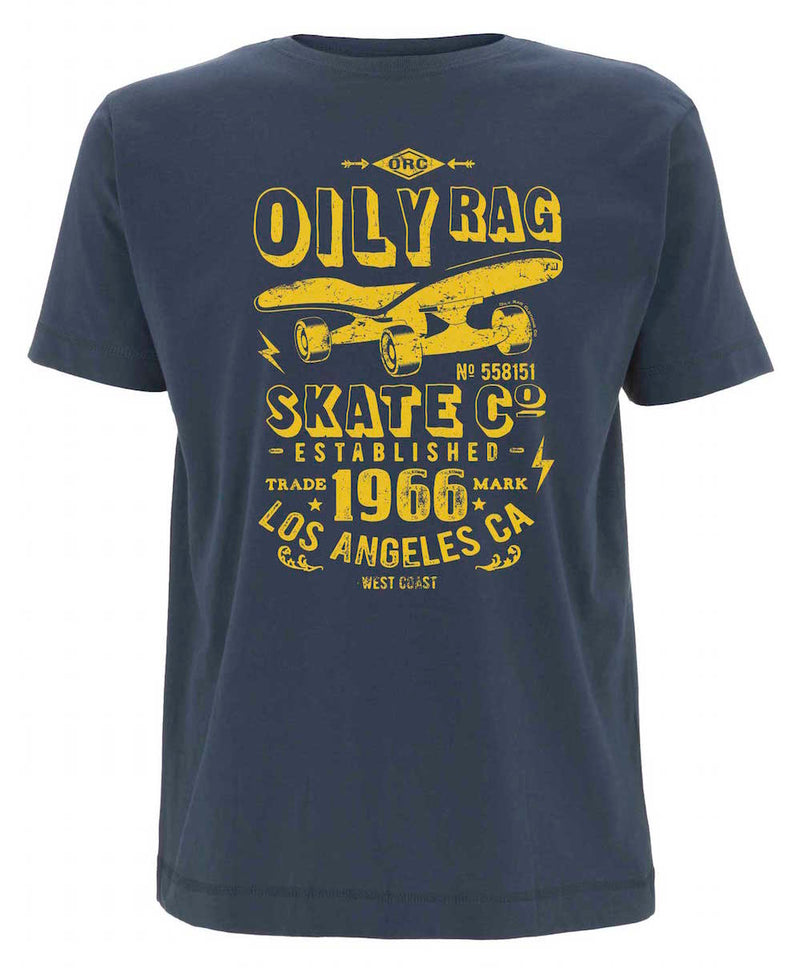 Oily Rag Clothing Skater retro T'shirt