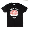 Oily Rag Clothing Black Label Old Skool retro design t'shirt