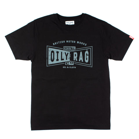 Oily Rag Clothing Black Label British Made T'Shirt