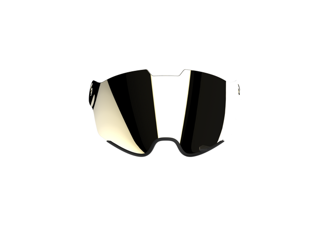 Qwart Mirror Visor for Phoenix Helmet
