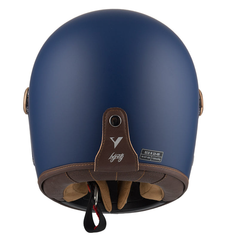 By City - By City Roadster Blue Full Face Helmet - Helmets