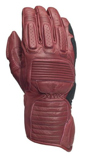 Roland Sands Design Ace Gloves in Oxblood