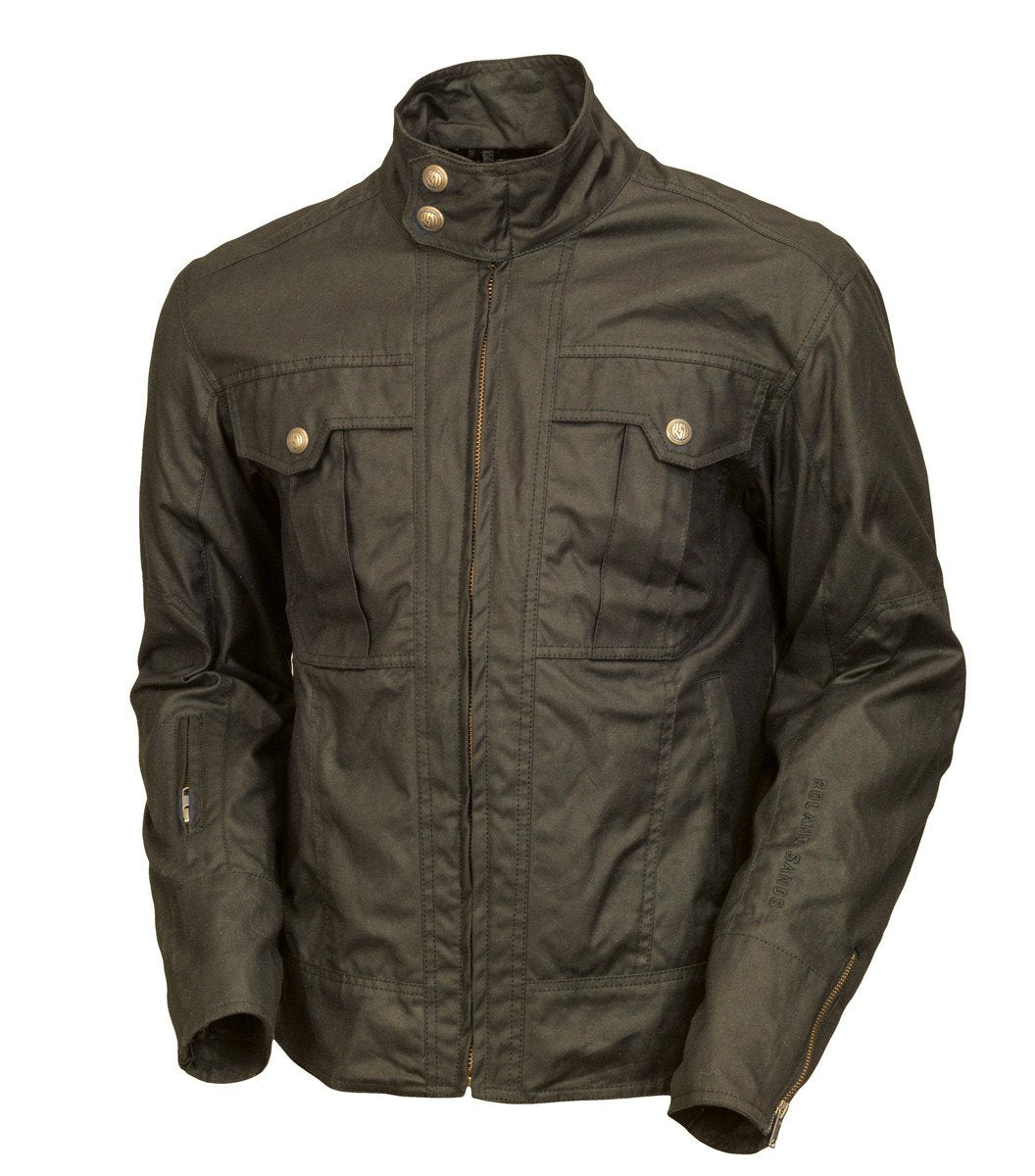Roland Sands Design Kent Textile motorcycle jacket Olive Green