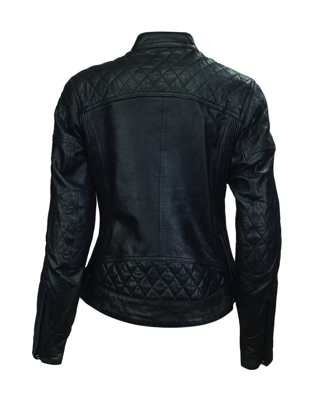 Roland Sands Design Riot motorcycle leather jacket in Black