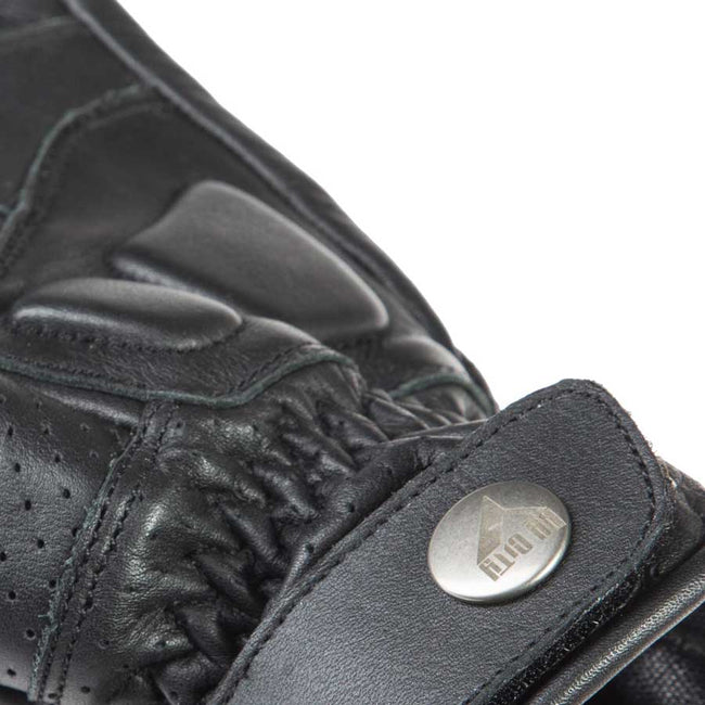 By City Mens Retro II Leather Motorcycle Glove