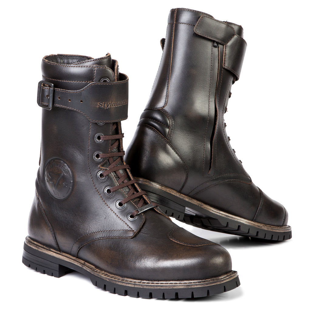Stylmartin Rocket Urban Motorcycle Boot in Brown
