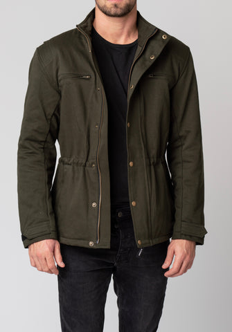 By City Men's Katar Textile Jacket