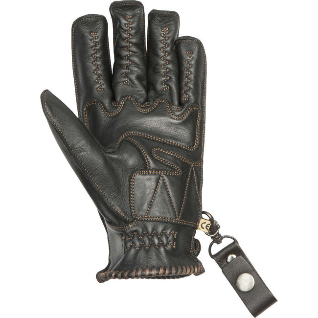By City Mens Second Skin Leather Motorcycle Glove