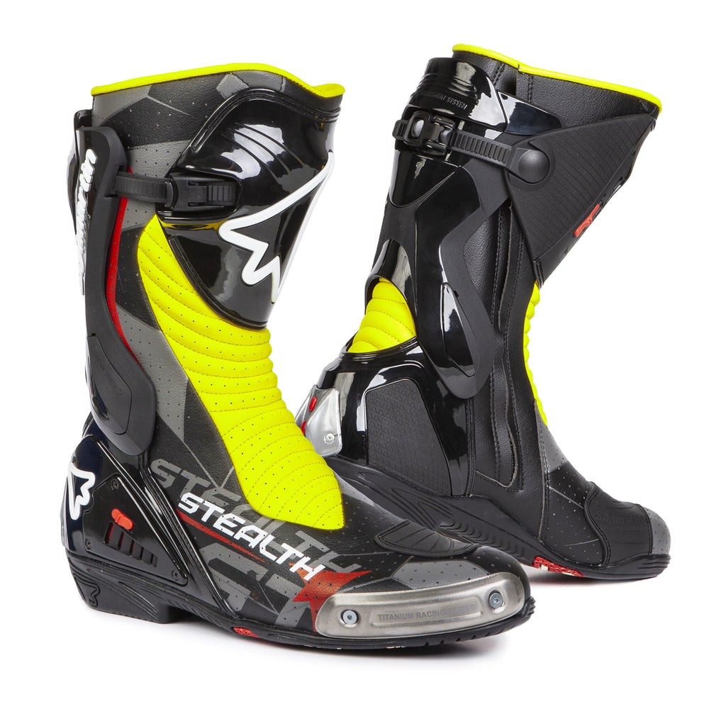 Stylmartin Stealth Evo Air Racing Motorcycle Boot