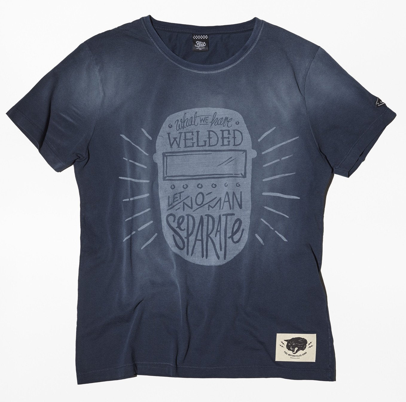 Fuel Motorcycles T-Welder Grey T'shirt