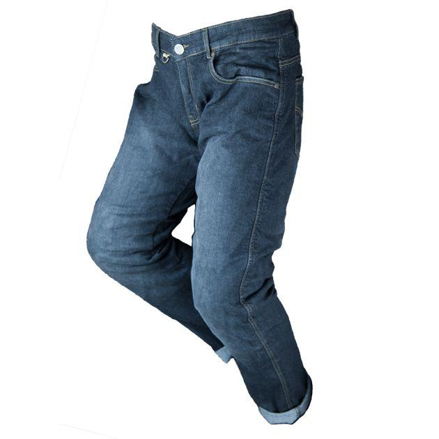 By City Tejano III Blue Motorcycle kevlar Jean