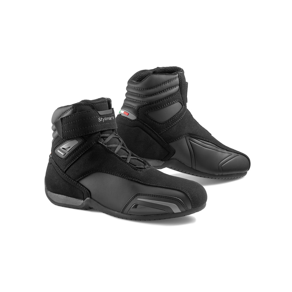 Stylmartin Vector WP Sport U Motorcycle Boot in Black and Anthracite