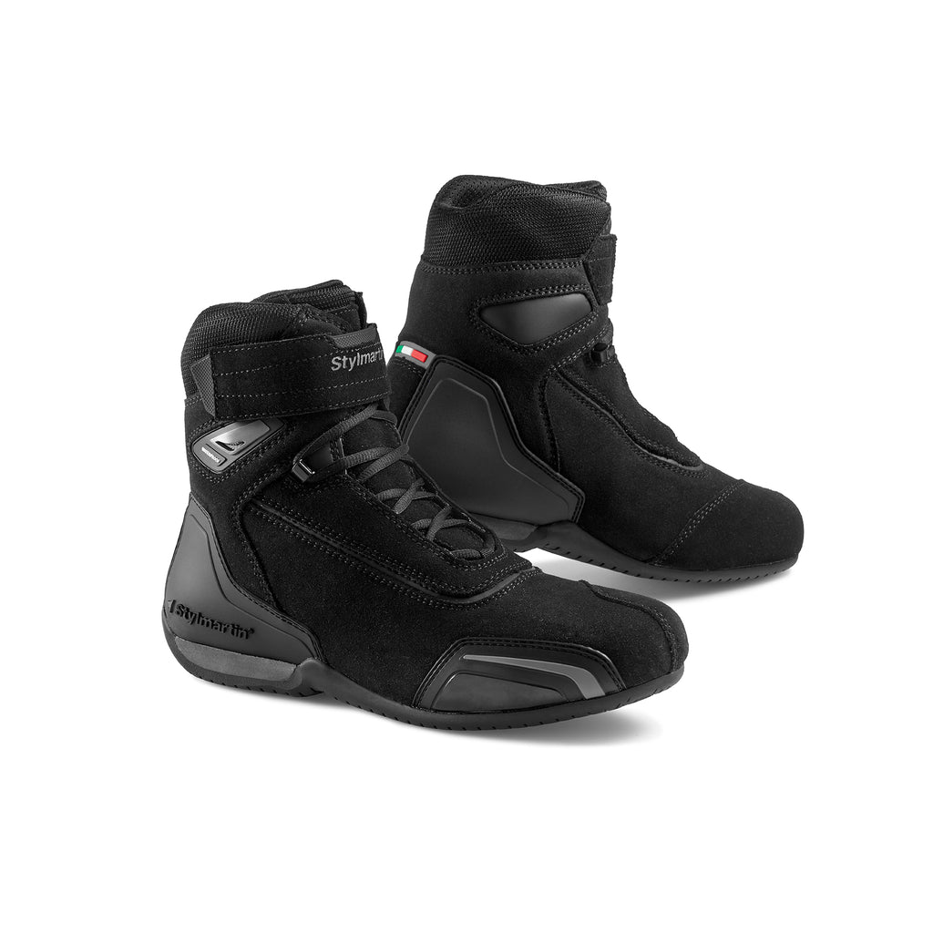 Stylmartin Velox WP Sport U Motorcycle Boot in Black
