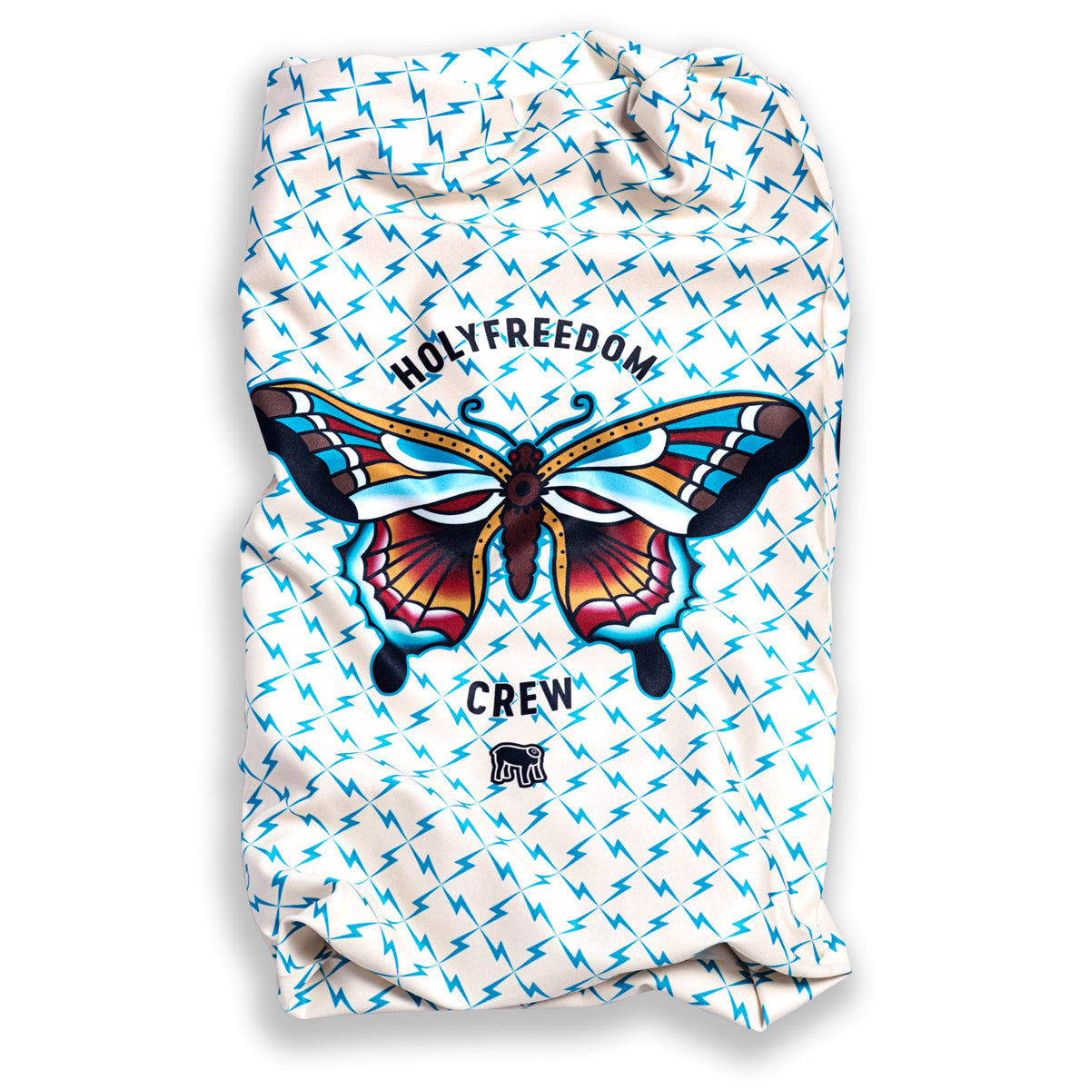 Holy Freedom Butterfly Stretch Bandana Tube