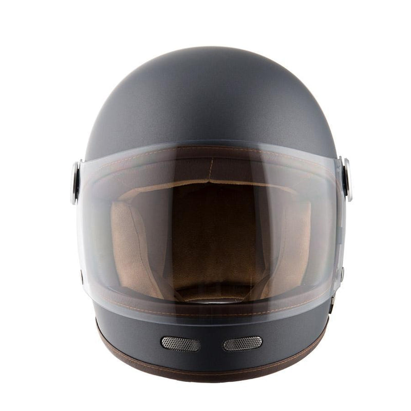 By City - By City Roadster Matte Grey Full Face Helmet - Helmets - Salt Flats Clothing