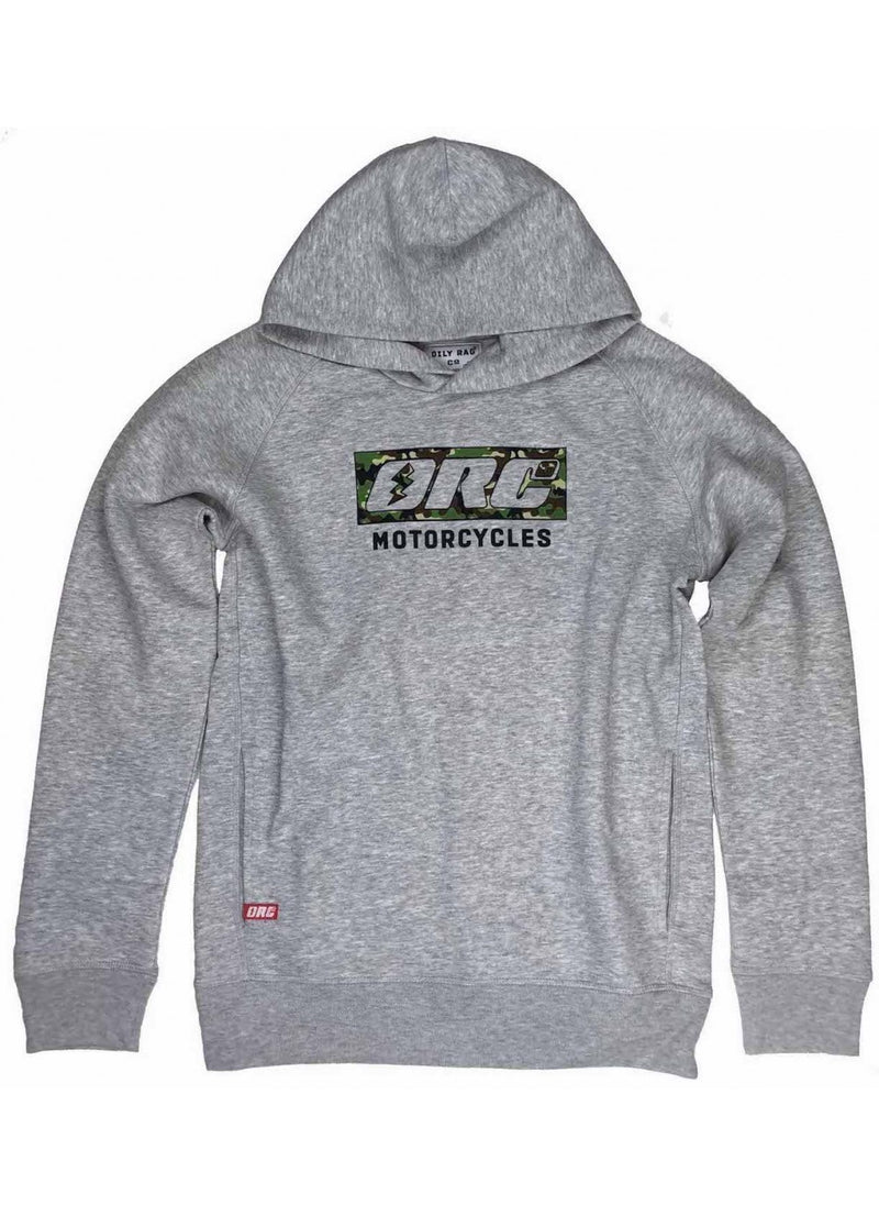 Oily Rag Clothing Unisex ORC Motorcycles Black Label Hoodie