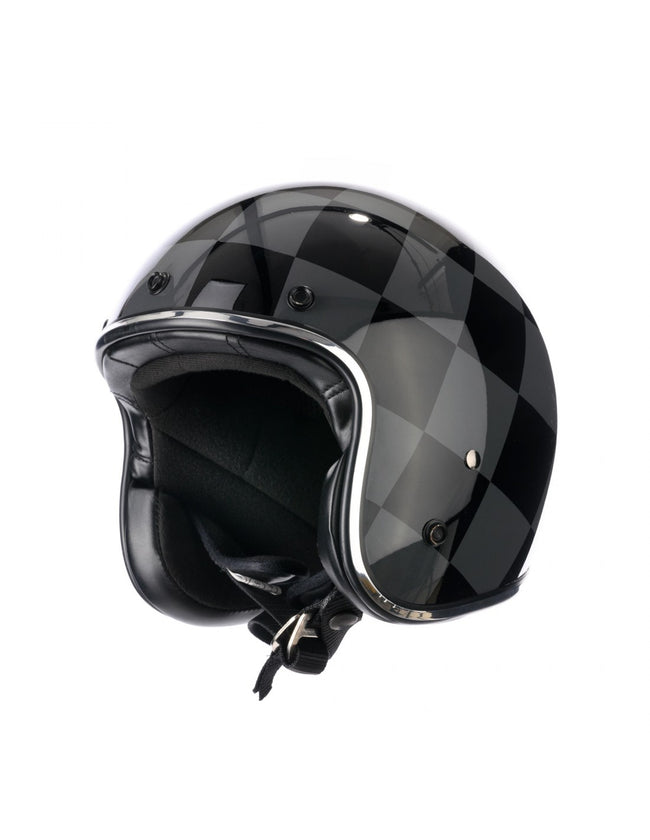 Holy Freedom Bullit Dark open face jet ECE helmet