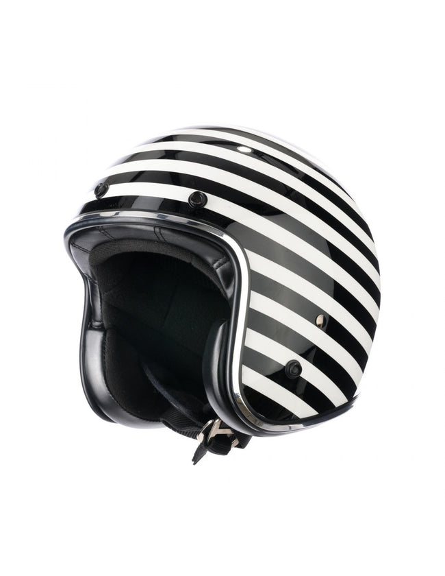 Holy Freedom Stripe Striscia open face jet ECE helmet