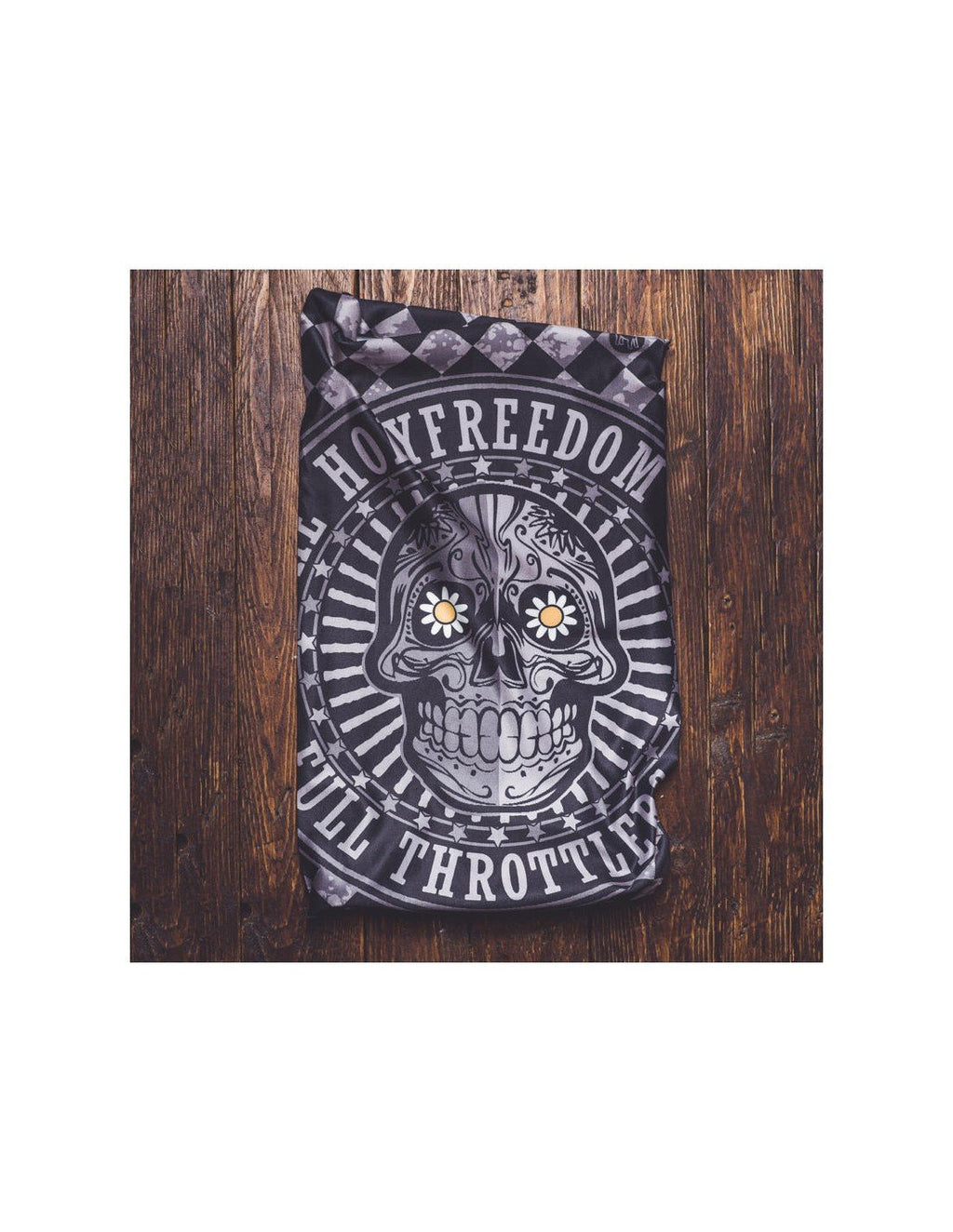 Holy Freedom Irongun Skull bandana tube
