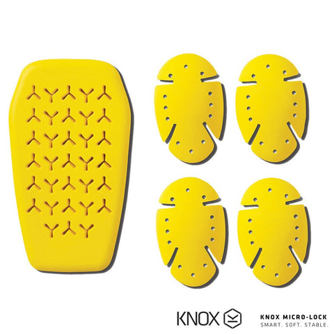 Roland Sands Design Knox Armour Kit - Men's Yellow