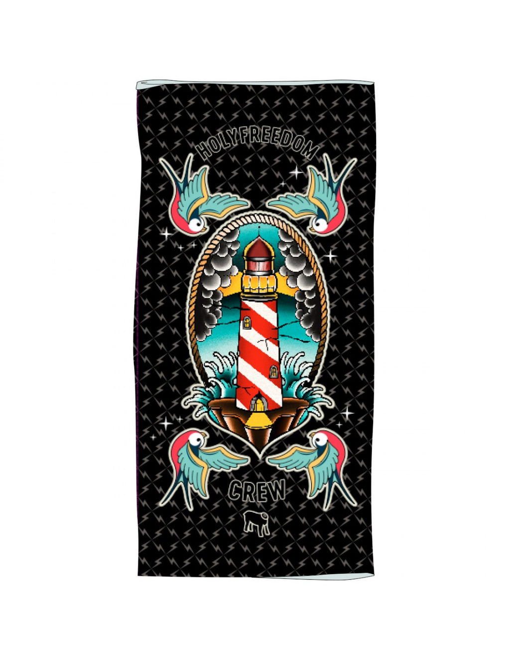 Holy Freedom Lighthouse Bandana Tube