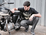 Oily Rag Clothing - Oily Rag Clothing Black Label Salt Flats Bobber - T-Shirts - Salt Flats Clothing