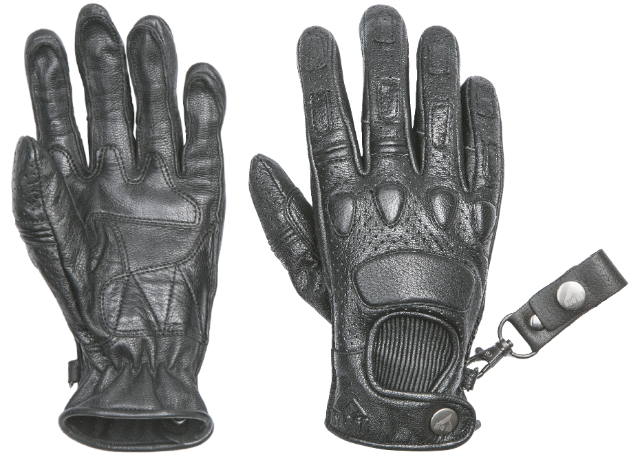 By City Mens Pilot Leather Motorcycle Glove