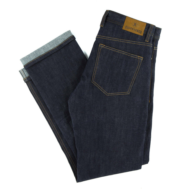 Resurgence Gear Mens Cafe Racer Selvedge motorbike jeans, safer alternative to Kevlar jeans