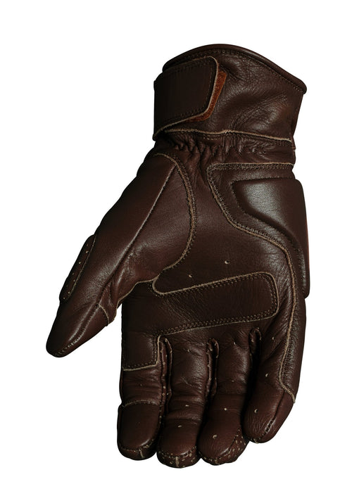 Roland Sands Design - Roland Sands Design Rourke Gloves - Brown - Gloves - Salt Flats Clothing