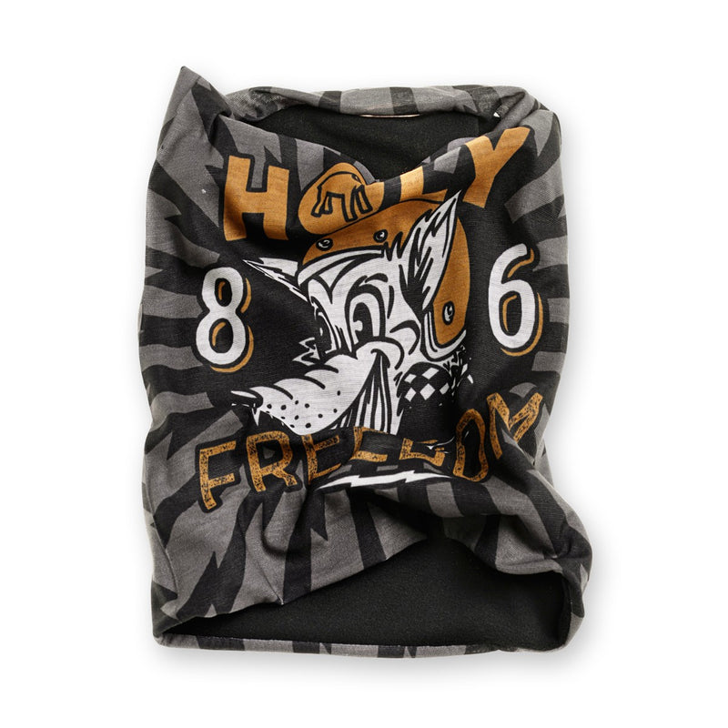 Holy Freedom Golden Wolf Pile Bandana Tube