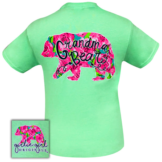 Grandma Bear Mint-2051 Short Sleeve