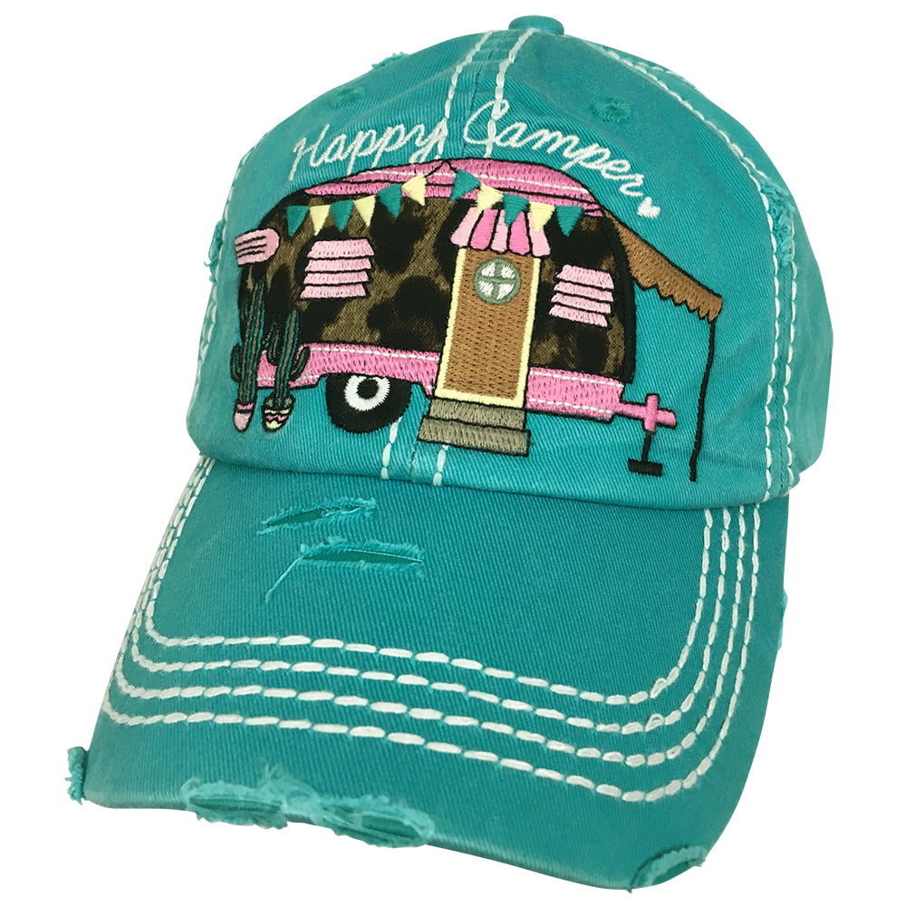 KBV-1171 Happy Camper-Turquoise